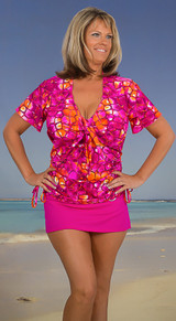 Women'smatching  cover-up, beach cover-up, cover-up jacket, women's beach jacket, cover-up for swimwear, women's swim jacket, plus size cover-up made in usa