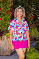 Women's Beach Cover-up Jacket #5108 Sizes XXS-XL