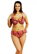 Conservative bikini bottom,  high waistline bikini bottom,  bikini full coverage, retro bikini bottom, high waisted bikini bottom