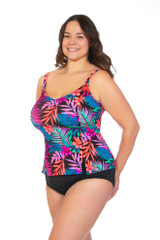 Women's Tankini for Plus size, large tankini for women,women's tankini for large bust, loose fit tankini for women, DD cup tankini, DDD cup tankini, E cup Tankini, F cup Tankini, G cup tankini, H cup tankini, I cup tankini