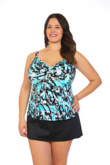 womens tankini for large bust, womens plus size swimwear, plus size tankini, tankini for large bra cup, swimwear for large boobs, swimwear for large breast