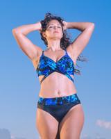 Awesome, Super Sexy Criss Cross Tie Bikini Top #617