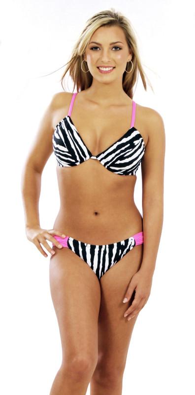 4b61166acbc5c Padded Push Up Underwire Bikini Top