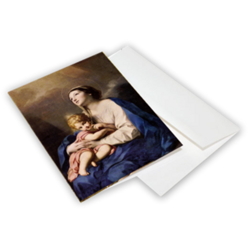 Virgin and Child - Christmas Cards 10-Pack