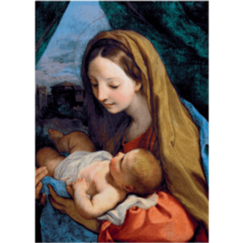 Christmas Cards - Virgin and Child