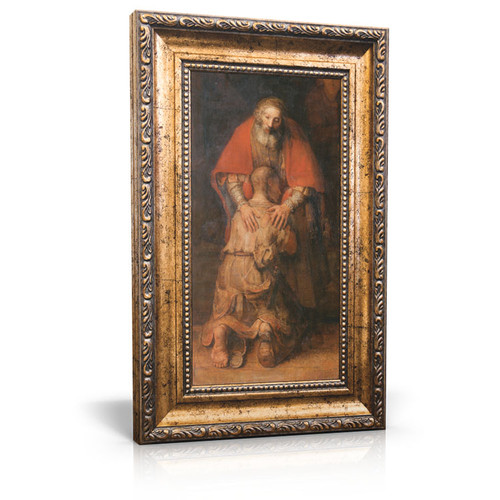 Return of the Prodigal Son - Framed Canvas