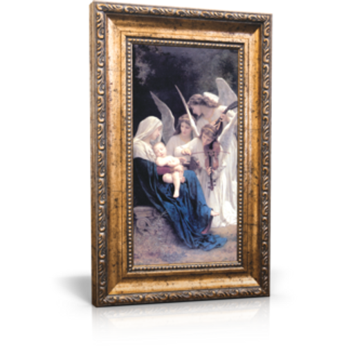 "Song of the Angels - Framed Canvas 6"" x 11"" (Including frame: 9.5"" x 14.5"")"