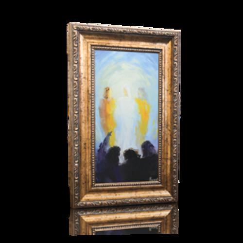 """Transfiguration - 6"""" x 11"""" (Including Frame: 9.5"""" X 14.5"""")"""