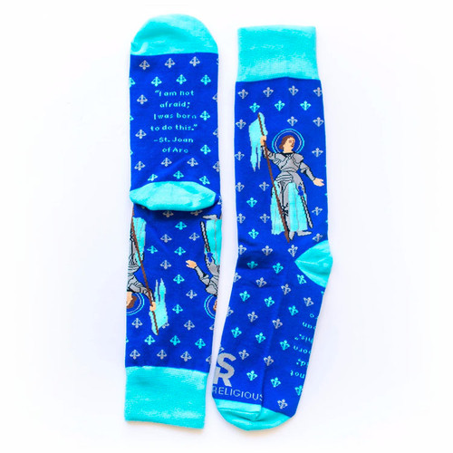 Joan of Arc Socks - Sock Religious