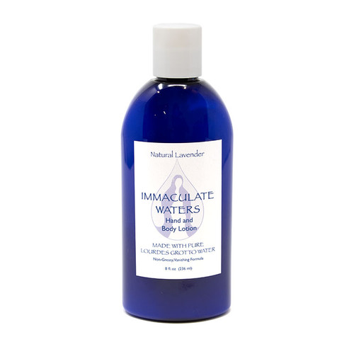 Immaculate Waters || Lavender Lotion made with Lourdes Water