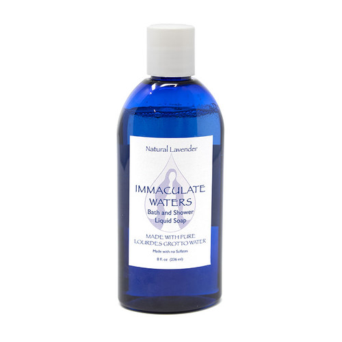 Immaculate Waters || Bath and Shower Liquid Soap made with Lourdes Water - Lavender