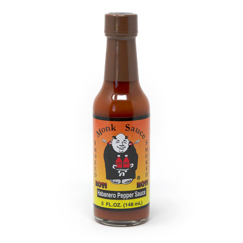 Monk Sauce | Smoked Habanero Hot Sauce