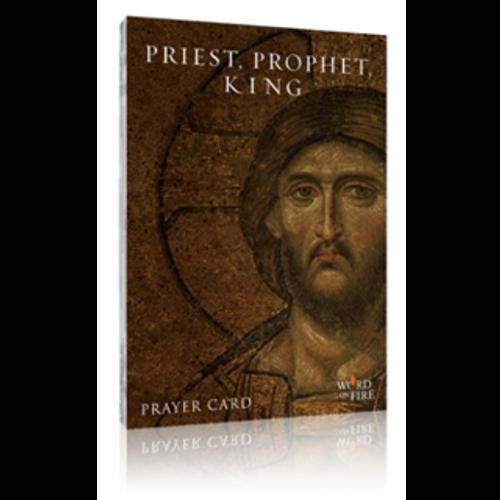Priest, Prophet, King Prayer 40 Card Set