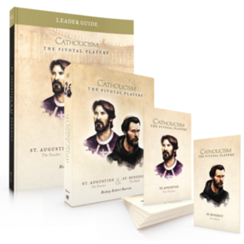 St. Augustine & St. Benedict - Pivotal Players - Leader Kit with DVD