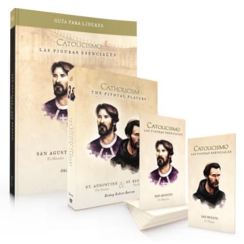 Pivotal Players- Leader Kit with DVD [SPANISH] - St. Augustine & St. Benedict