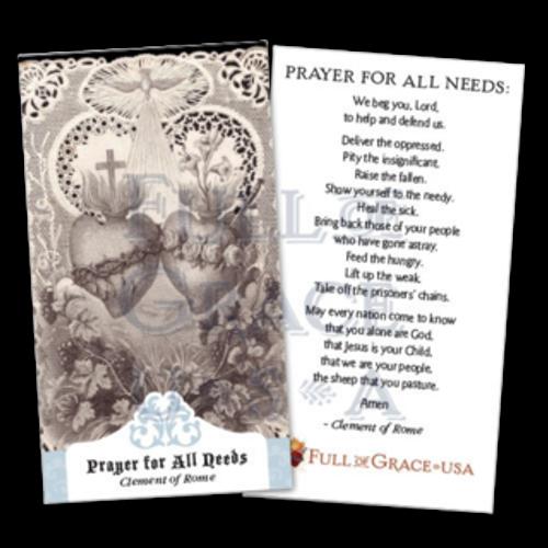 All Needs Prayer Cards