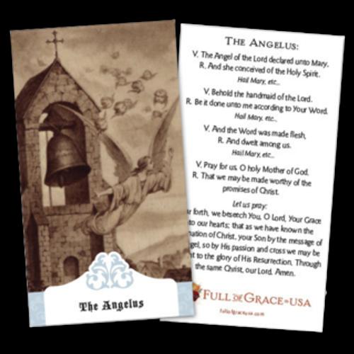 Angelus Prayer Cards