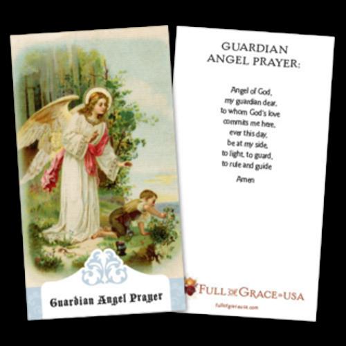 Guardian Angel Prayer Cards