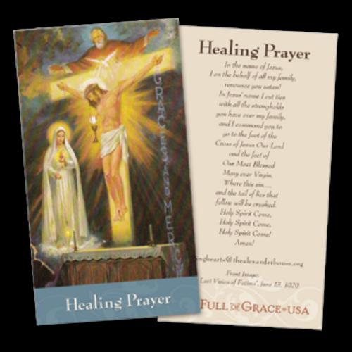 Healing Prayer Cards