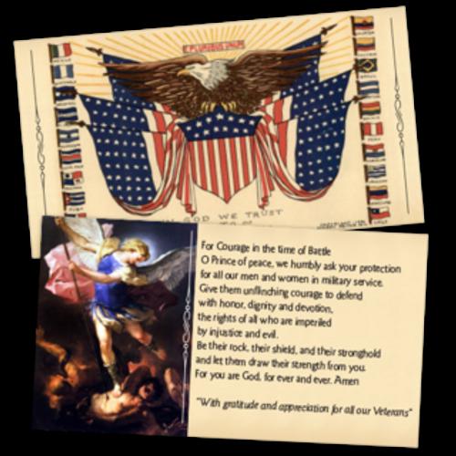 In God We Trust Prayer Cards