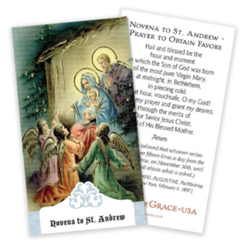 St. Andrew Novena Prayer Cards