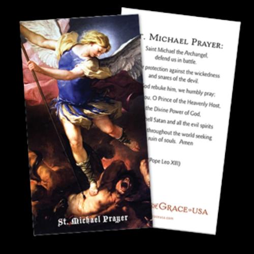 St. Michael Prayer Cards