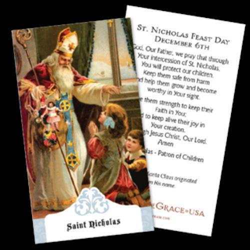 St. Nicholas Prayer Cards