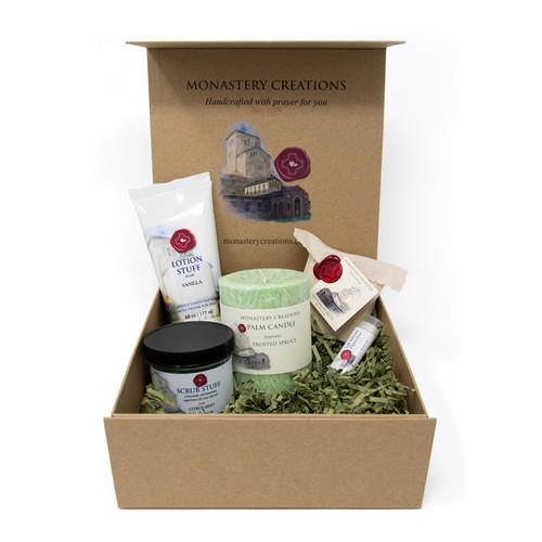 Christmas Self-Care Box: Assorted Gifts from Monastery Creations