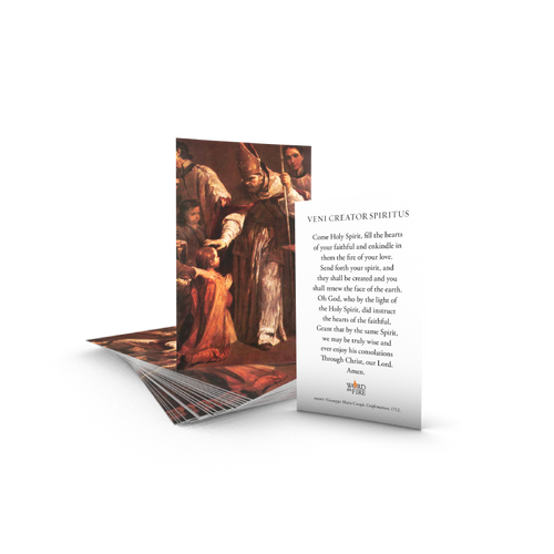 The Sacraments Come Holy Spirit Prayer Cards