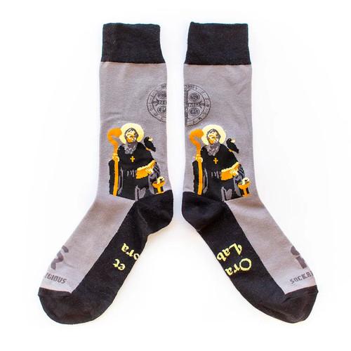 St. Benedict Socks - Sock Religious