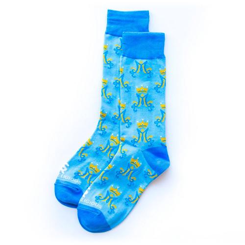 Marian Monogram Socks - Sock Religious