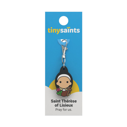 Saint Therese of Lisieux - Tiny Saints Charm