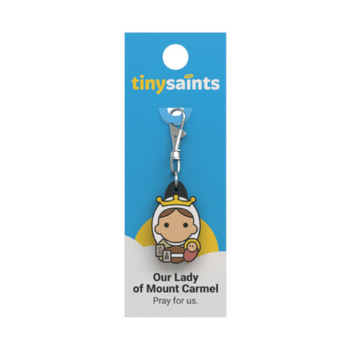 Our Lady of Mount Carmel - Tiny Saints Charm