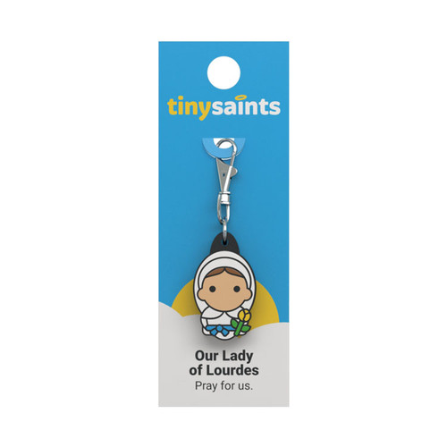 Our Lady of Lourdes - Tiny Saints Charm