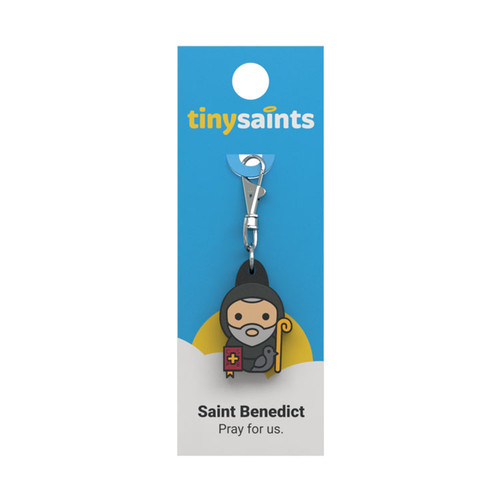 Saint Benedict - Tiny Saints Charm