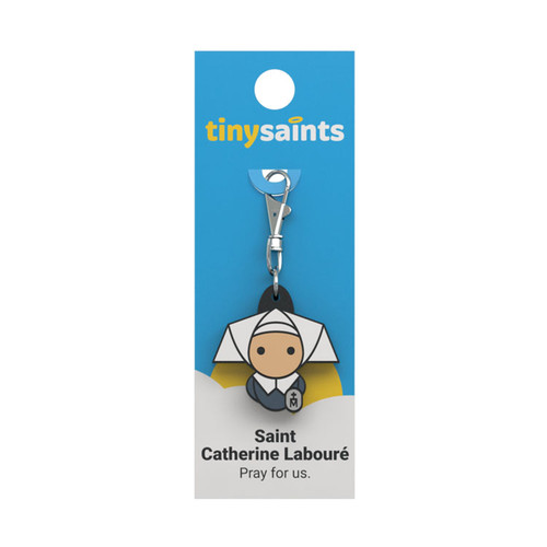 Saint Catherine Labouré - Tiny Saints Charm