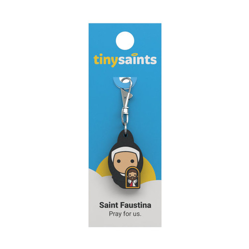 Saint Faustina - Tiny Saints Charm