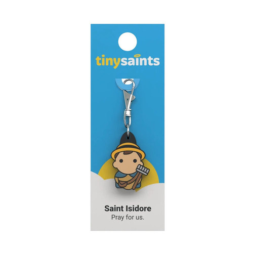 Saint Isidore - Tiny Saints Charm