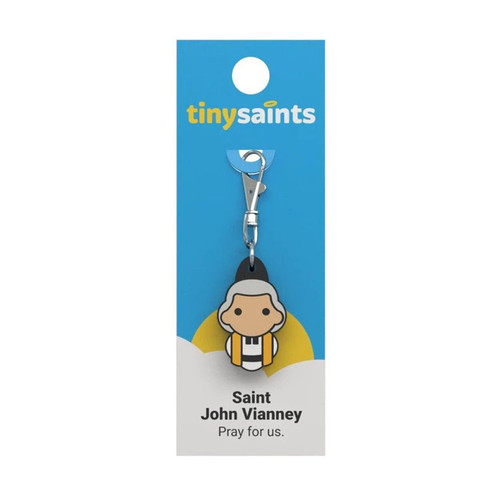 Saint John Vianney - Tiny Saints Charm