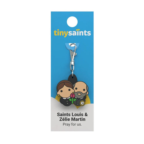 Saint Louis and Zélie Martin - Tiny Saints Charm