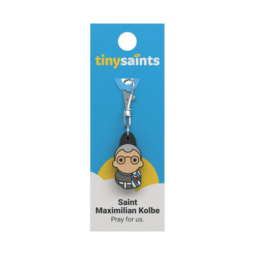 Saint Maximillian Kolbe - Tiny Saints Charm