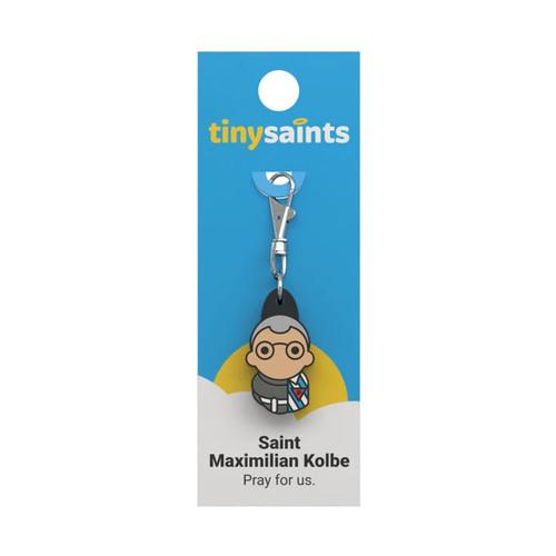 Saint Maximillian Kolbe - Tiny Saints Charm