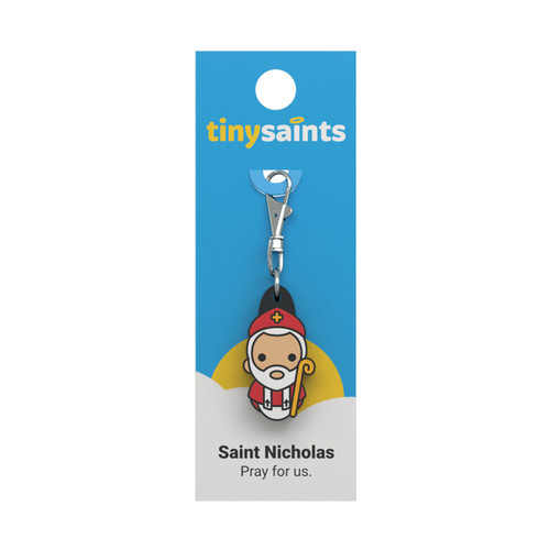 Saint Nicholas - Tiny Saints Charm