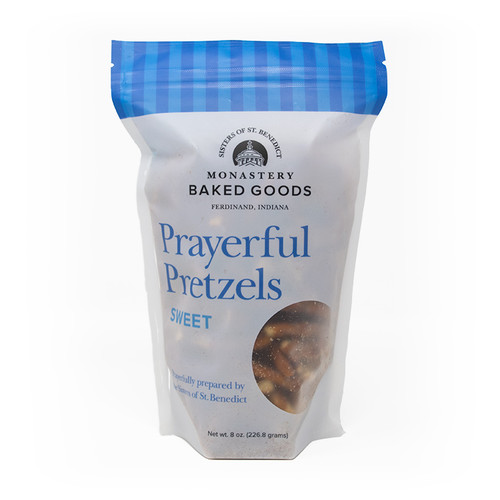 Monastery Baked Goods | Prayerful Pretzels - Sweet - 8oz