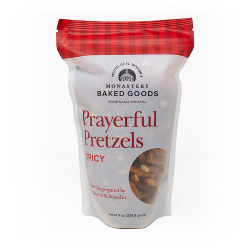 Monastery Baked Goods | Prayerful Pretzels - Spicy - 8oz