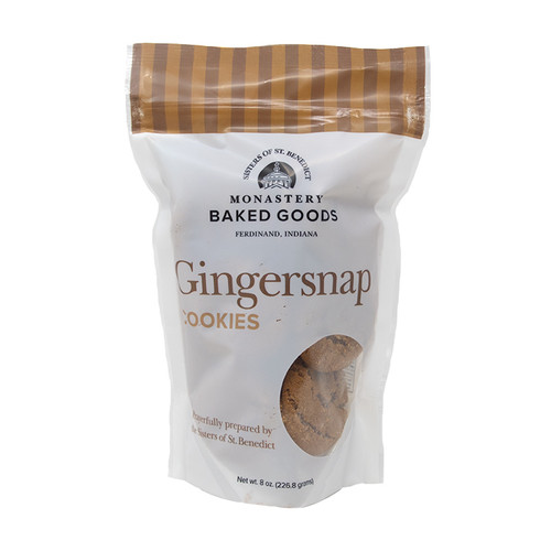 Monastery Baked Goods | Gingersnap Cookies - 8oz