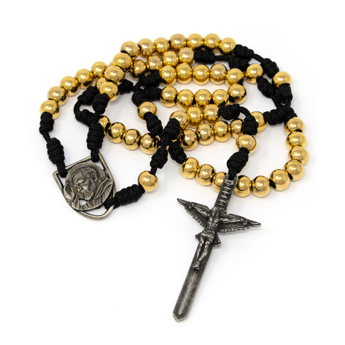 In Via || Gold Rosary Padre Pio