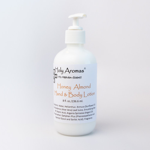 Holy Aromas® | Hand and Body Lotion - Honey Almond - Front