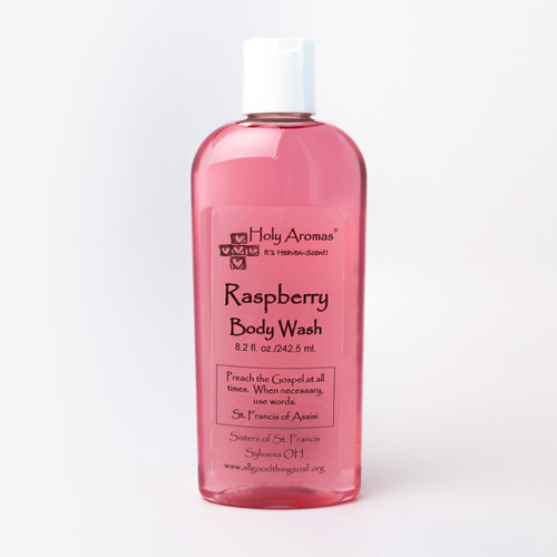 Holy Aromas® | Body Wash - Raspberry - Front
