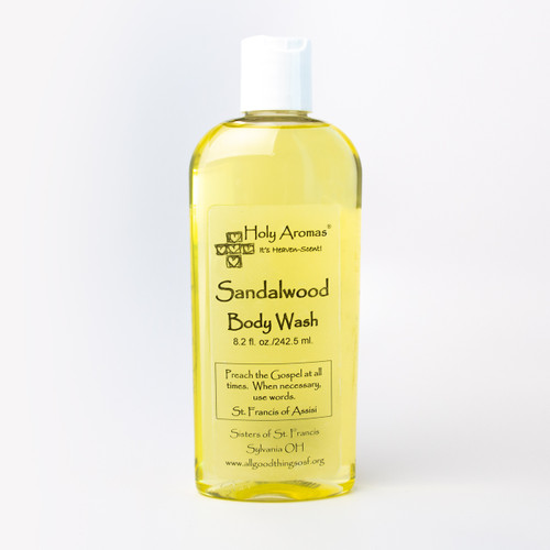 Holy Aromas® | Body Wash - Sandalwood - Front